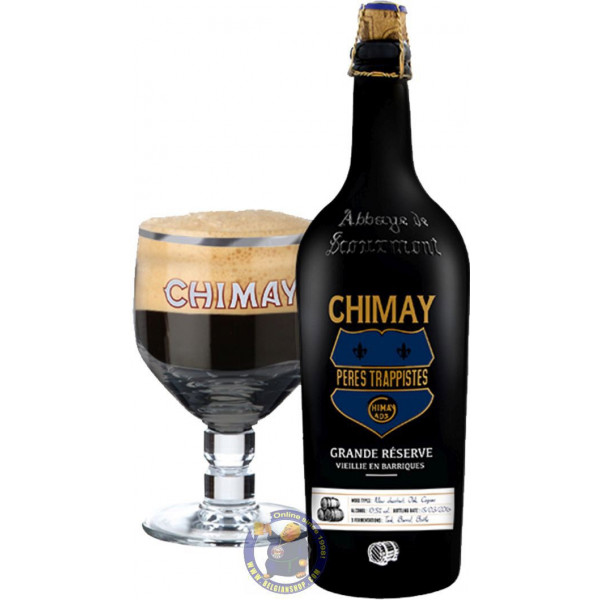 "Buy-Achat-Purchase - Chimay ""Grande Réserve"" Barrel Aged - Cognac 2016 3/4L - Trappist beers -"