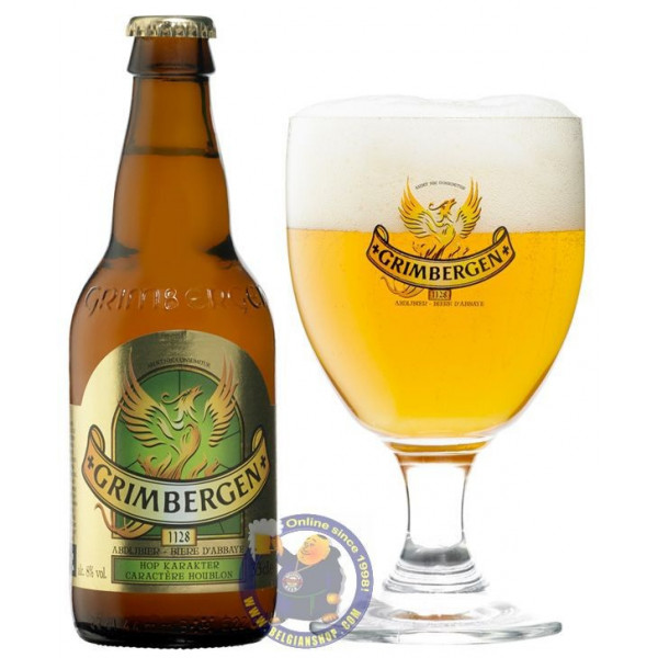 Buy-Achat-Purchase - Grimbergen Caractere Houblon 8° - 1/3L - Abbey beers -