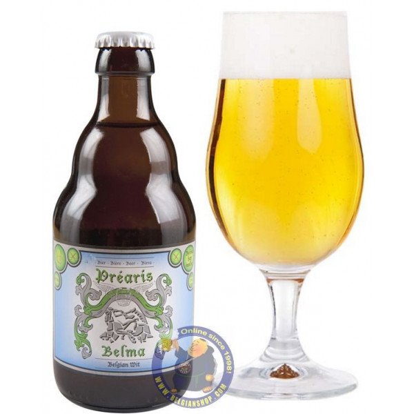 Buy-Achat-Purchase - Préaris Belma 5° - 1/3L - White beers -