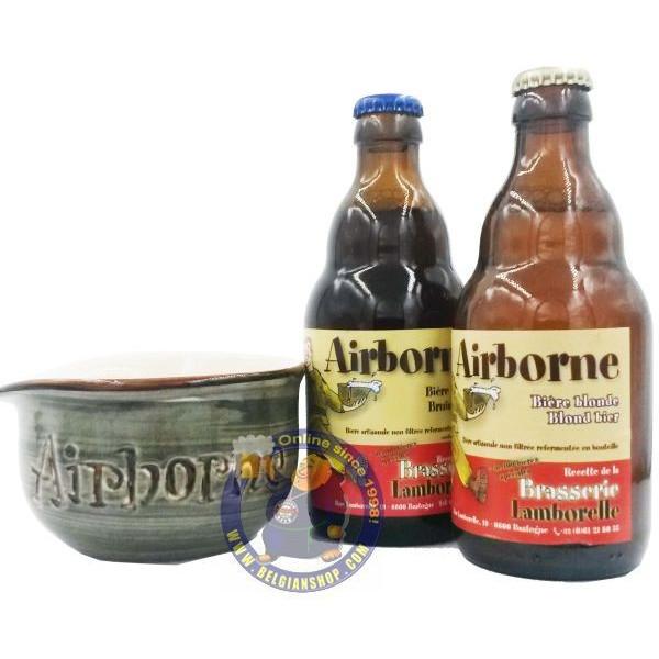 Bastogne Airborne TRIO Pack 2x33cl + 1 Helmet - Mugs -