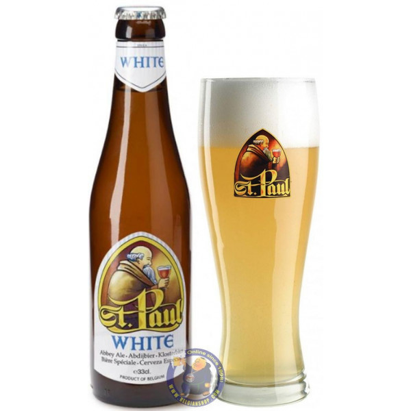Buy-Achat-Purchase - St Paul White 4.5° - 1/3L - White beers -