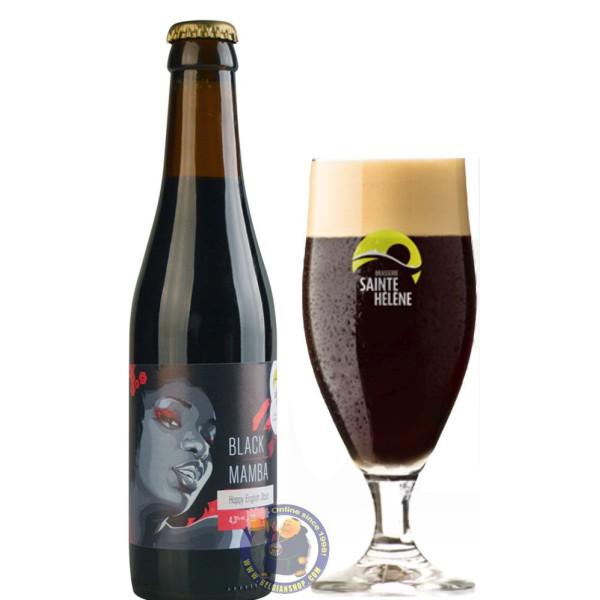 Buy-Achat-Purchase - Sainte Hélène Black Mamba 4.3° - 1/3L - Special beers -