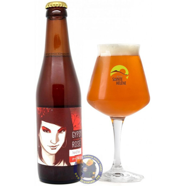 Buy-Achat-Purchase - Sainte Hélène Gypsy Rose 9° -1/3L - Special beers -