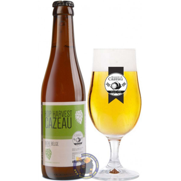 Buy-Achat-Purchase - Cazeau Hop Harvest 5° - 1/3L - Special beers -