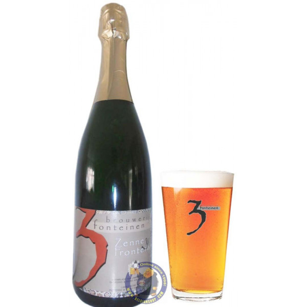 Buy-Achat-Purchase - 3 Fonteinen Zenne y Frontera Solera 3/4L - Geuze Lambic Fruits -