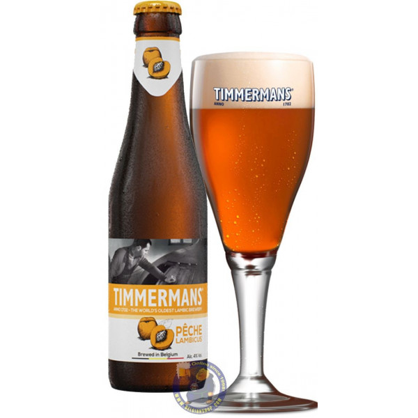 Buy-Achat-Purchase - Timmermans Pêche Lambicus 4° - 1/4L - Geuze Lambic Fruits -