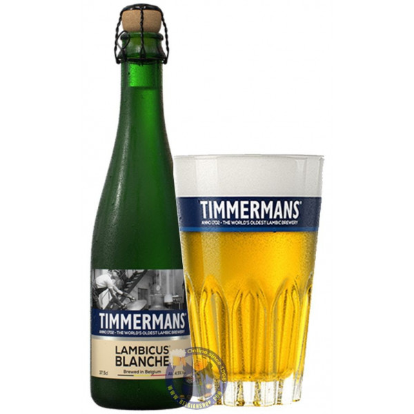 Timmermans Lambicus Blanche 4° - 37,5cl - Geuze Lambic Fruits -