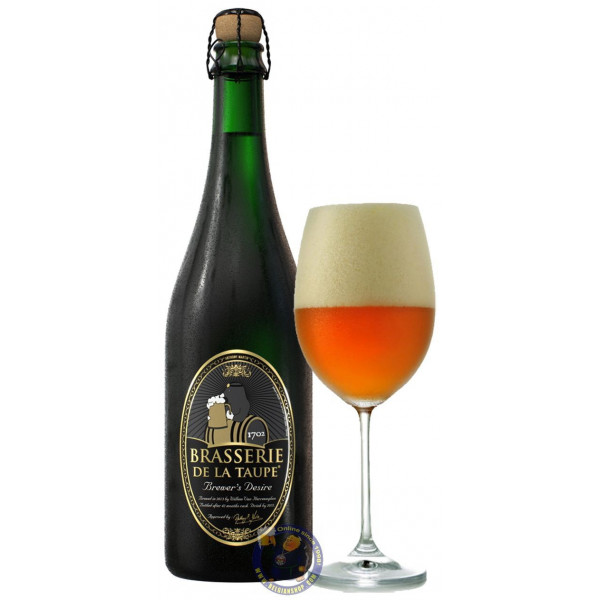Buy-Achat-Purchase - Brasserie De La Taupe Brewer's Desire 7.5° - 3/4L - Special beers -