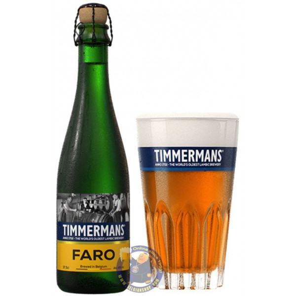 Timmermans Faro 4° - 37,5cl - Geuze Lambic Fruits -
