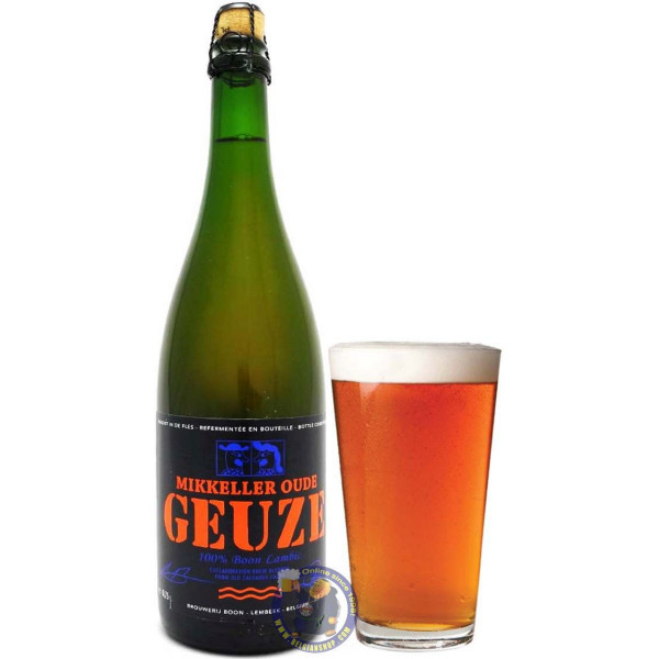 Buy-Achat-Purchase - Boon Mikkeller Oude Geuze 6.4° - 3/4L - Geuze Lambic Fruits -