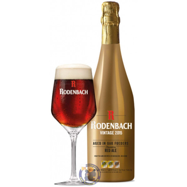 Rodenbach Vintage 2015 7° - 3/4L - Flanders Red -