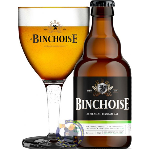 Buy-Achat-Purchase - Binchoise Triple 8.5° - 1/3L - Special beers -