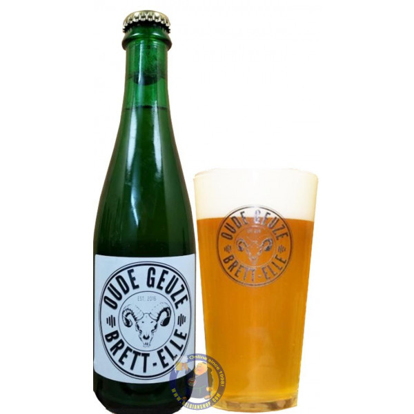 Buy-Achat-Purchase - Lambiek Fabriek Brett-Elle Oude Geuze 5.5° - 37,5cl - Geuze Lambic Fruits -