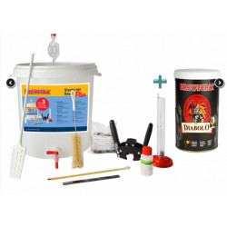 Starter's kit Basic Plus + Beer kit Diabolo for 9 l - Starter Kits -