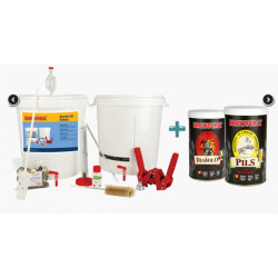Starter kit Deluxe + Beer kits Pils and Diabolo - Starter Kits -