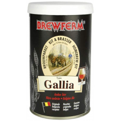 Buy-Achat-Purchase - Beer kit Brewferm GALLIA Belgian Ale for 12L - Brewing Kits -
