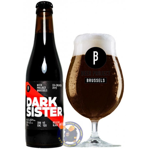 Buy-Achat-Purchase - Brussels Beer Project Dark Sister 6.6° - 1/3L - Special beers -