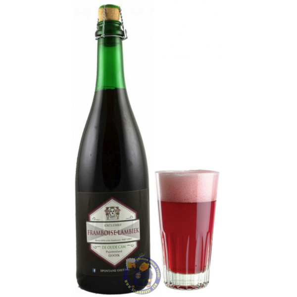 Buy-Achat-Purchase - Framboise Lambiek De Cam 6° - 3/4L - Geuze Lambic Fruits -