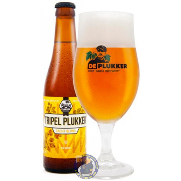 Buy-Achat-Purchase - De Plukker Tripel Plukker 7.5° - 1/3L - Abbey beers -