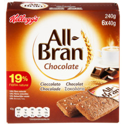 KELLOGG'S ALL-BRAN 6x40g - Biscuits -