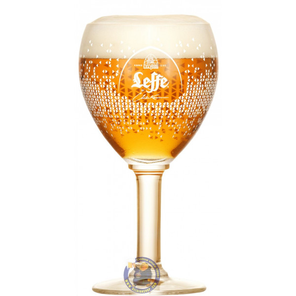 Leffe Beer Glass Limited Edition by Charles Kaisin - Glasses -