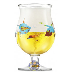 Duvel Beer Glass Limited Edition by Yan Sorgi - Glasses -