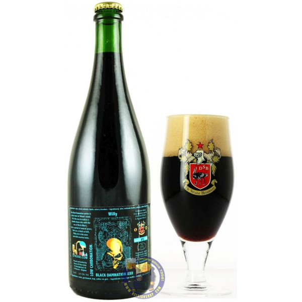 Buy-Achat-Purchase - Struise Black Damnation XXII - Willy - 13° - 3/4L - Special beers -
