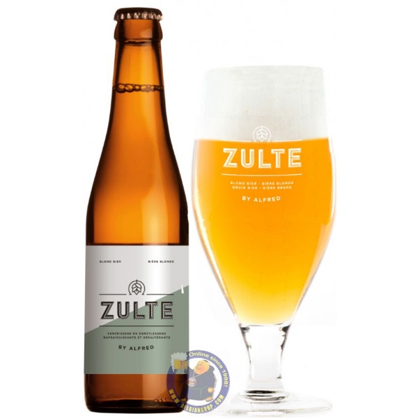 Buy-Achat-Purchase - Zulte Blond 5.5° - 1/3L - Special beers -