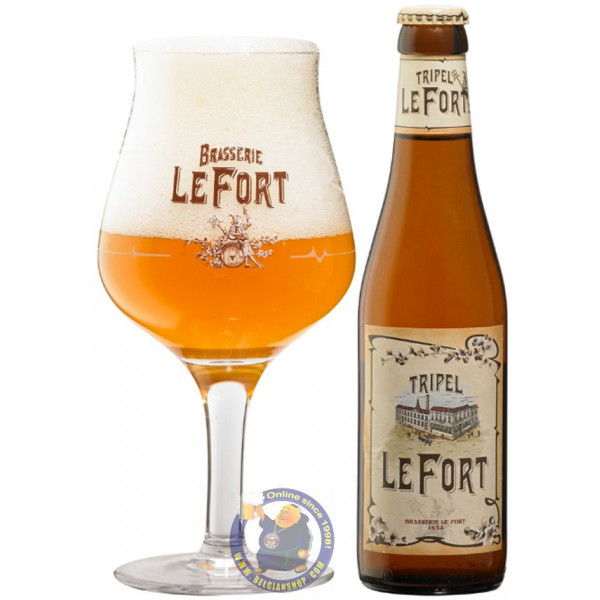Tripel LeFort 8.8° - 1/3L - Abbey beers -