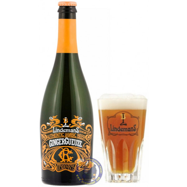 Buy-Achat-Purchase - Lindemans GingerGueuze 6° - 3/4L - Geuze Lambic Fruits -