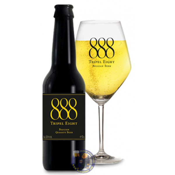 Buy-Achat-Purchase - 888 Tripel Eight 8.8° - 1/3L - Special beers -