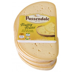 PASSENDALE Fruity cheese slices +/- 300g - Cheeses -