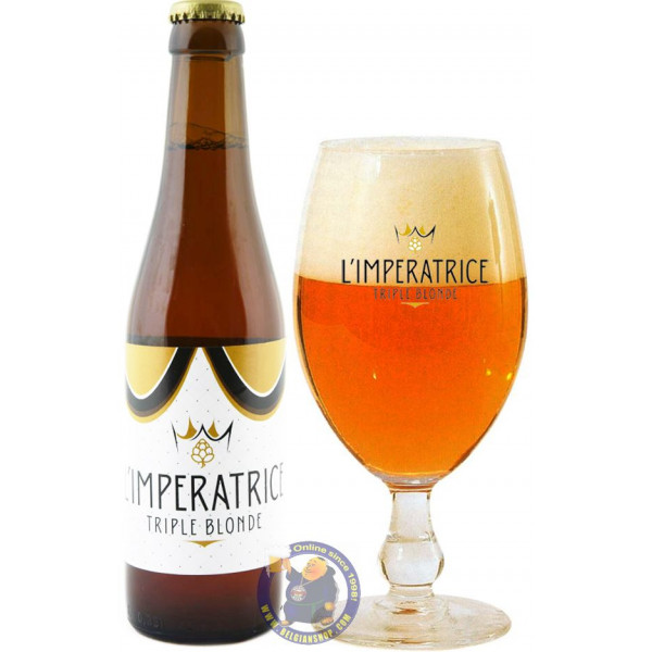 Buy-Achat-Purchase - L'Impératrice Triple Blonde 9° - 1/3L - Special beers -