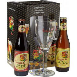 Brugse Zot Pack 4x33cl + 1glass - Home -