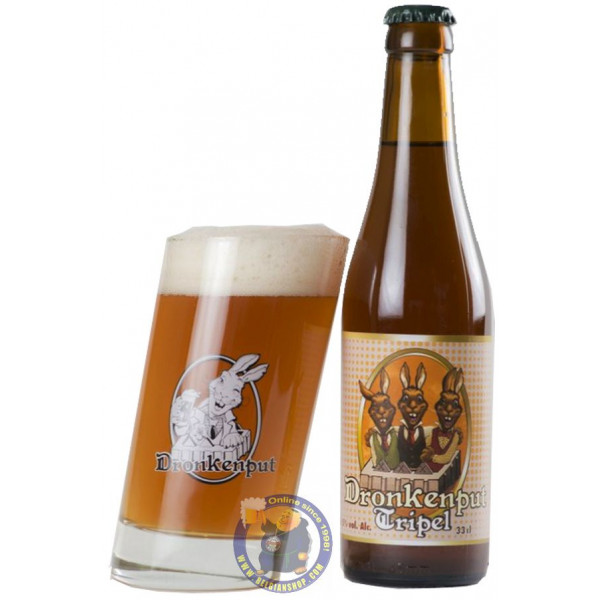 Buy-Achat-Purchase - Dronkenput Tripel 8.5° - Special beers -