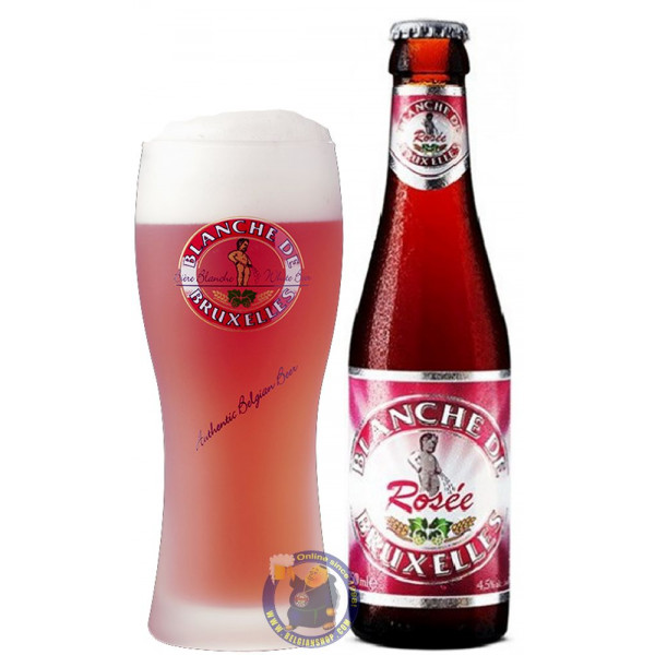 Buy-Achat-Purchase - Blanche de Bruxelles Rosée 4.5° - 1/4L - Geuze Lambic Fruits -