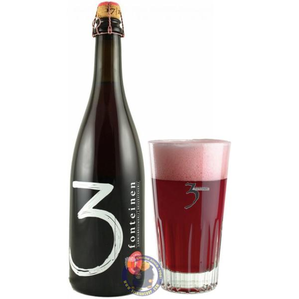3 Fonteinen Framboos 6° - 3/4L - Geuze Lambic Fruits -