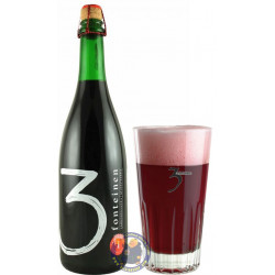 Buy-Achat-Purchase - 3 Fonteinen Oud Kriek INTENSE RED 5° - 3/4L - Geuze Lambic Fruits -
