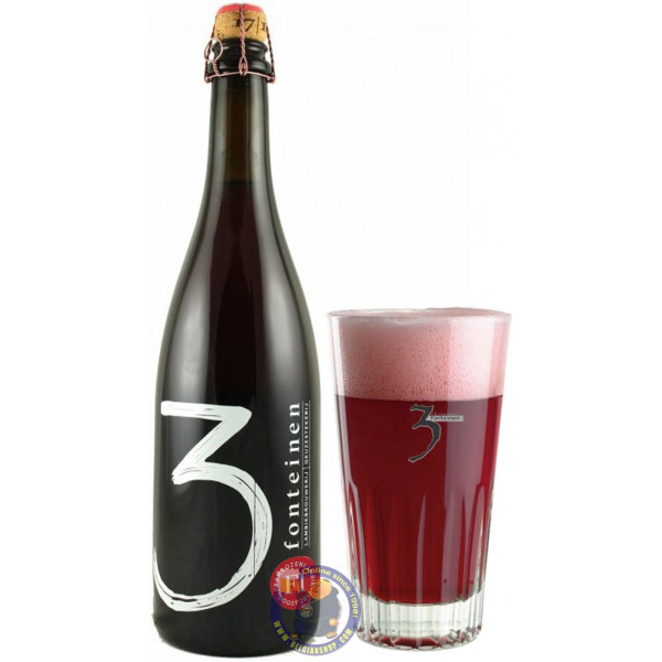 Buy-Achat-Purchase - 3 Fonteinen Frambozenlambik 5° - 3/4L - Geuze Lambic Fruits -