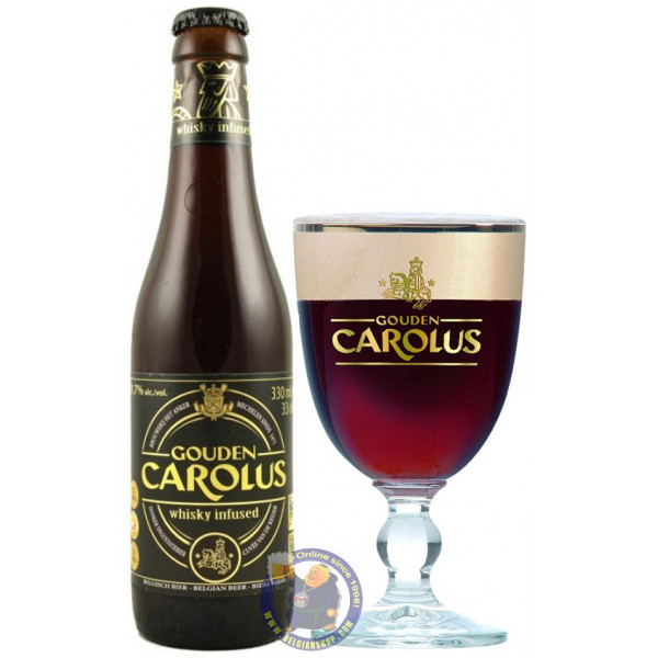 Buy-Achat-Purchase - Gouden Carolus Whisky Infused 11,7° - 1/3L - Special beers -