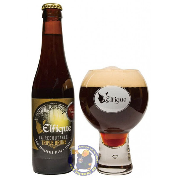 Buy-Achat-Purchase - Elfique Triple Brune 8° - 1/3L - Special beers -