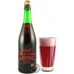 Belle-Vue Sélection Lambic Kriek 6° - 3/4L - Geuze Lambic Fruits -