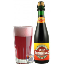 Buy-Achat-Purchase - Dekoninck Oude Kriek A l'Ancienne 6.5° - 37,5cl - Geuze Lambic Fruits -