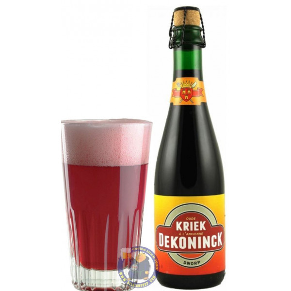 Dekoninck Oude Kriek A l'Ancienne 6.5° - 37,5cl - Geuze Lambic Fruits -