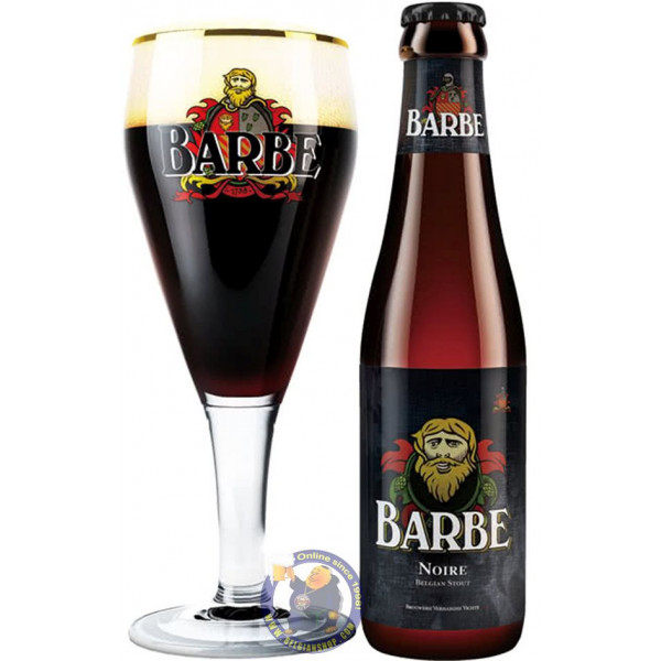 Buy-Achat-Purchase - Barbe Noire (Barbe Black) 9° - 1/3L - Special beers -