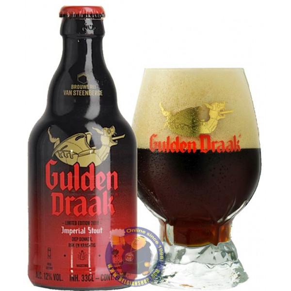Gulden Draak Imperial Stout 12° - 1/3L - Special beers -