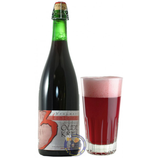 Buy-Achat-Purchase - 3 Fonteinen Oude Kriek 5,7° - 3/4L - Geuze Lambic Fruits -