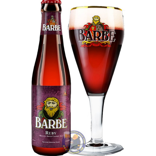 Buy-Achat-Purchase - Verhaeghe Barbe Ruby 7,7° - 1/3L - Geuze Lambic Fruits -