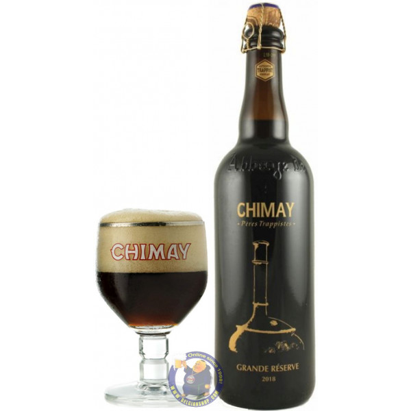 Buy-Achat-Purchase - Chimay Grande Reserve 2018 Limited Edition 75CL - Trappist beers -