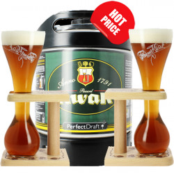 Pauwel Kwak PerfectDraft Pack 1Keg+2 Glasses - Special beers -